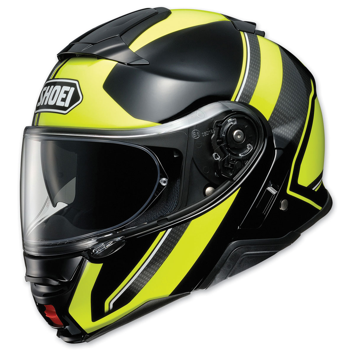 Shoei Neotec II Excursion Black/Yellow Modular Helmet