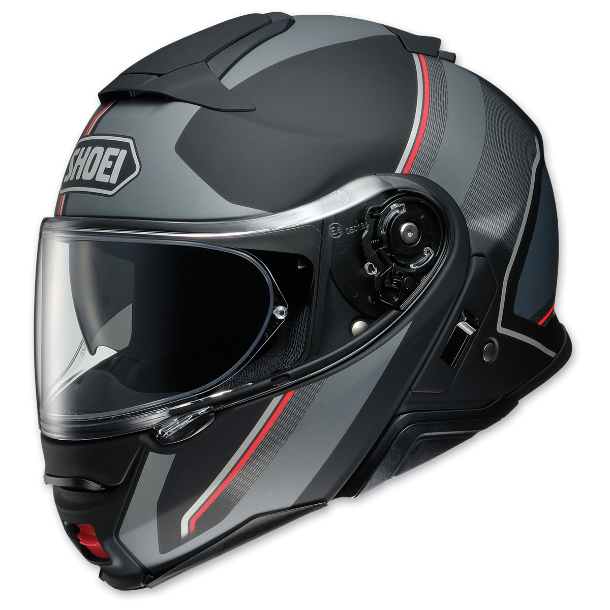 Shoei Neotec II Excursion Matte Black/Gray Modular Helmet