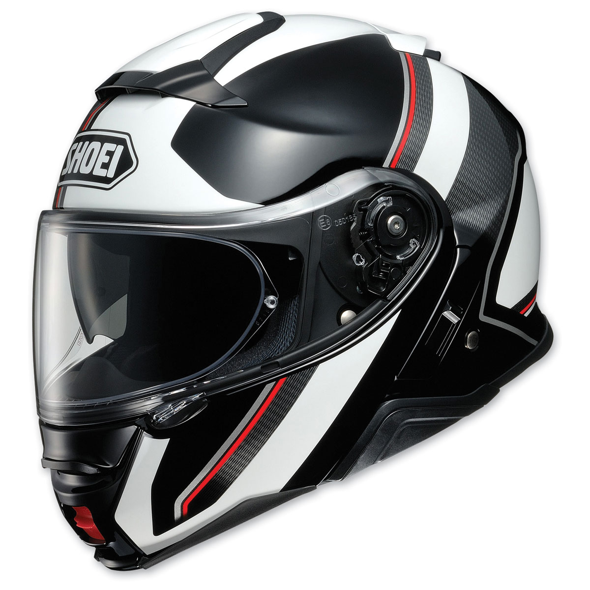 Shoei Neotec II Excursion Black/White Modular Helmet
