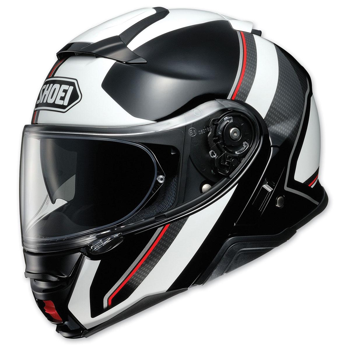 Shoei Neotec II Excursion Black/White Modular Helmet