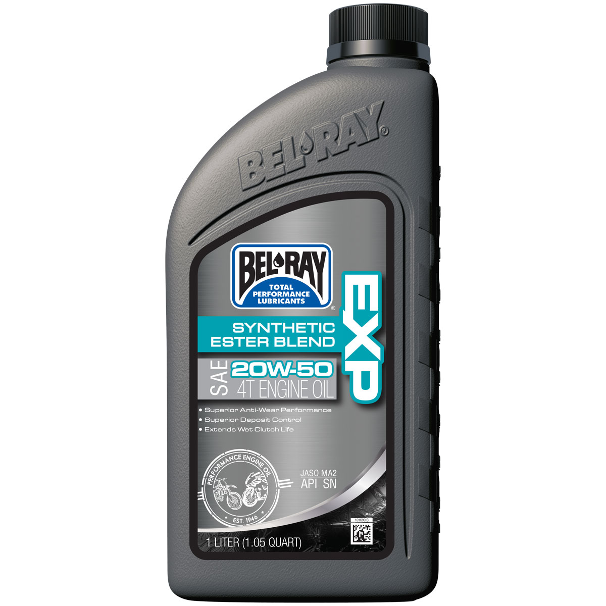 Bel-Ray EXP Synthetic Ester Blend 4T 20W50 Engine Oil 1 Liter