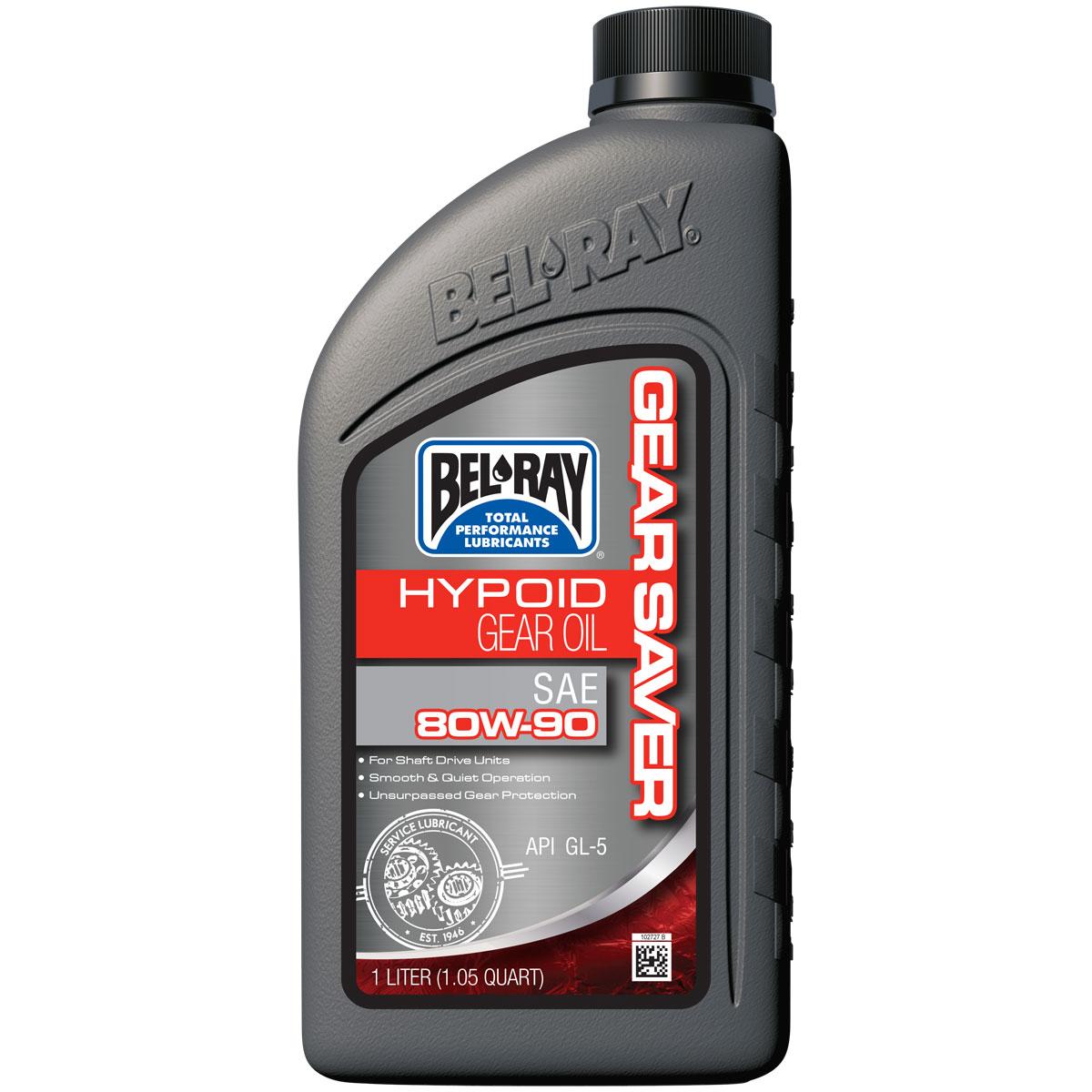 Bel-Ray Gear Saver 80W90 Hypoid Gear Oil Liter