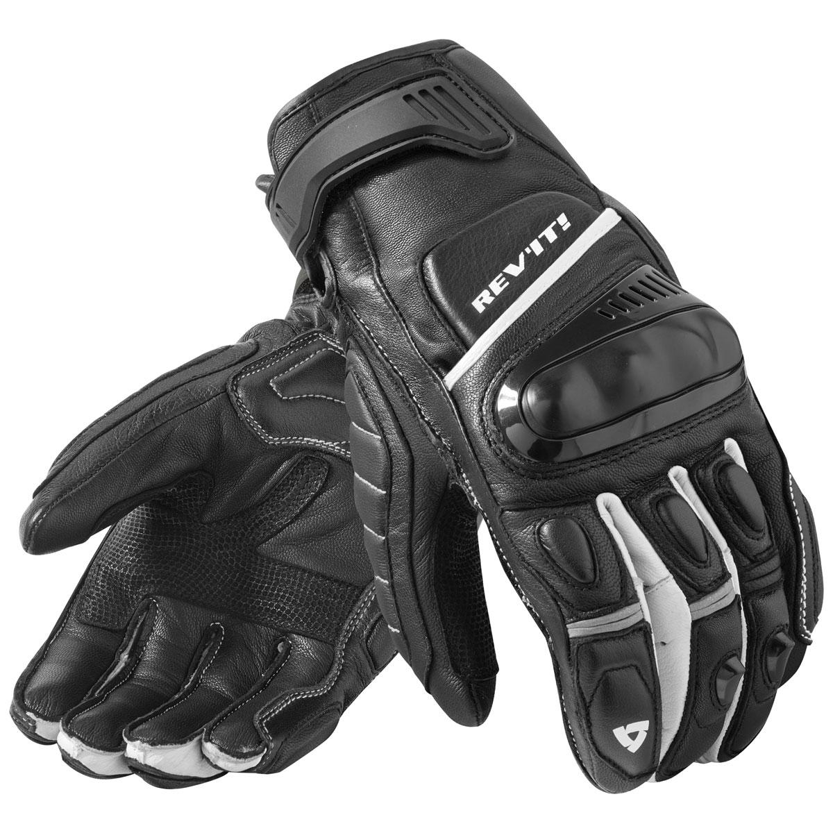 REV′IT! Men's Chicane Black/White Gloves
