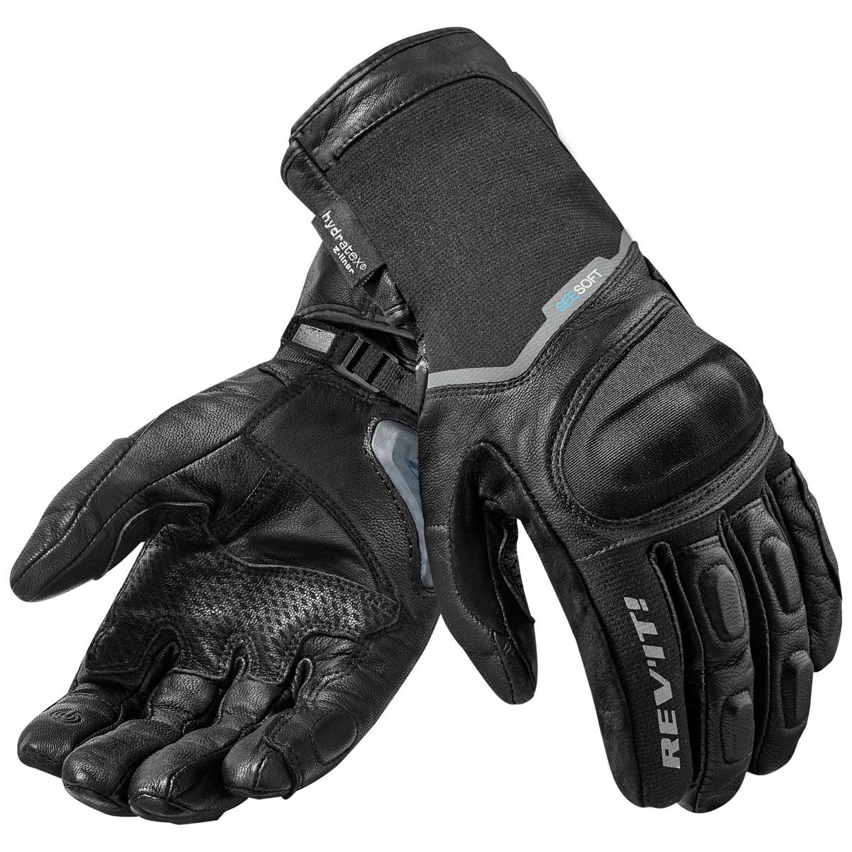 REV′IT! Men's Summit 2 H2O Black Gloves