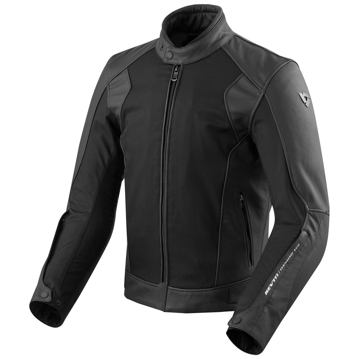 REV′IT! Men's Ignition 3 Black Jacket
