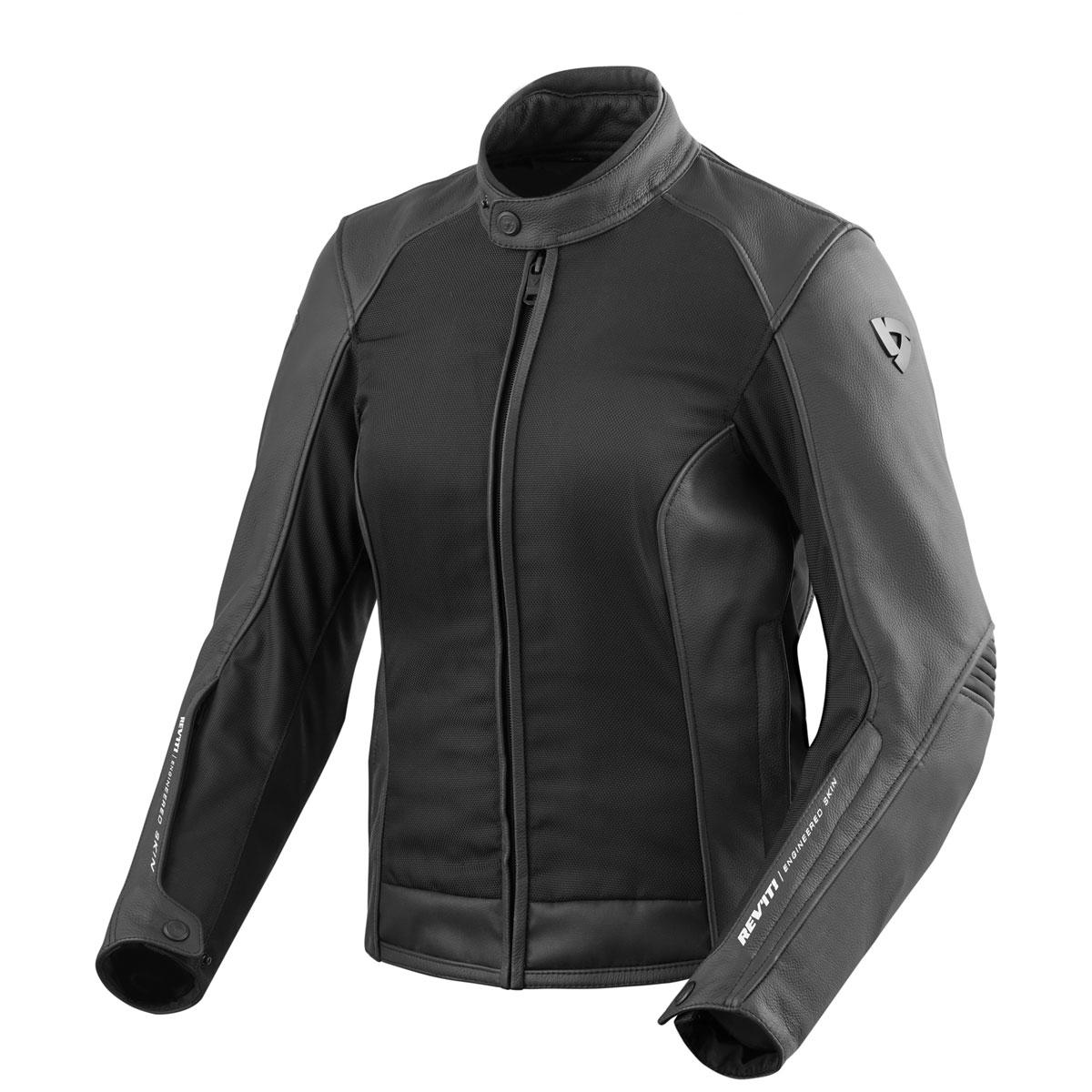 REV'IT! Women's Ignition 3 Black Jacket