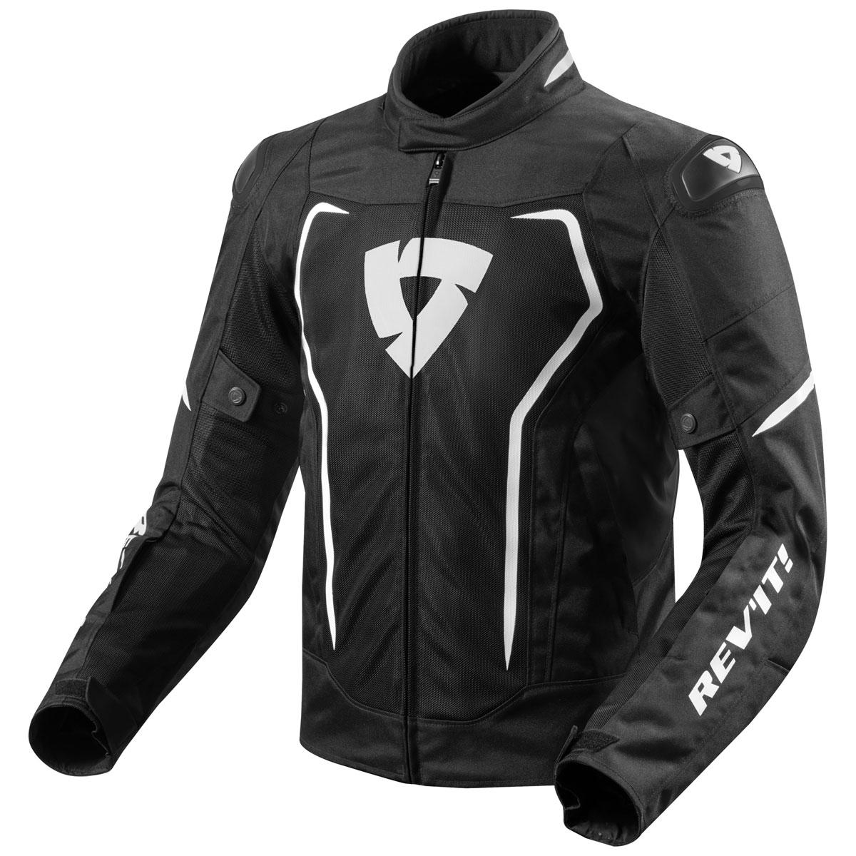 REV′IT! Men's Vertex Air Black Jacket