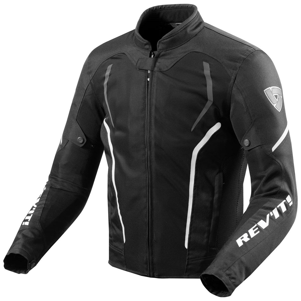 REV′IT! Men's GT-R Air 2 Black/White Jacket