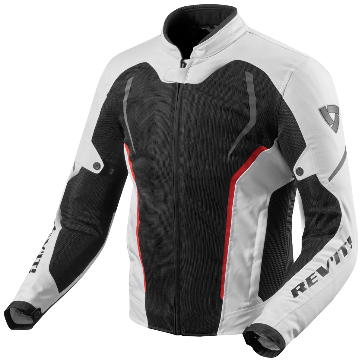 REV′IT! Men's GT-R Air 2 White/Black Jacket