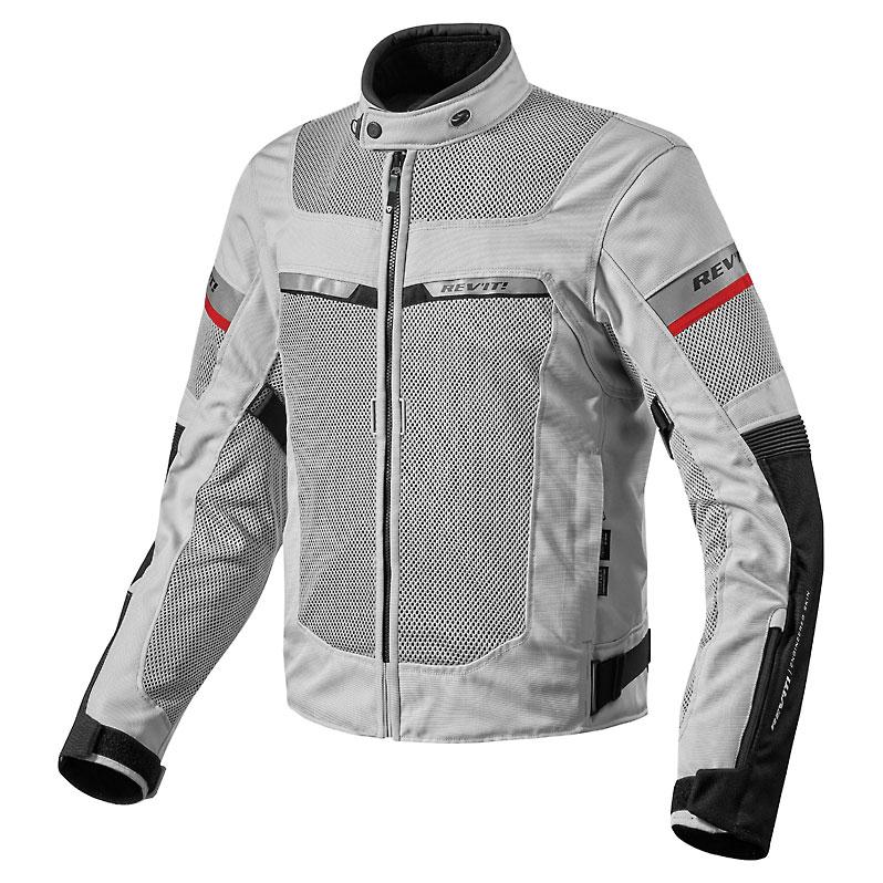 REV′IT! Men's Tornado 2 Silver/Black Jacket