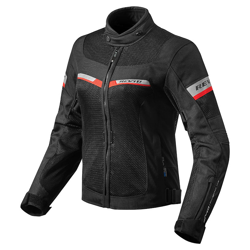 REV′IT! Women's Tornado 2 Black Jacket