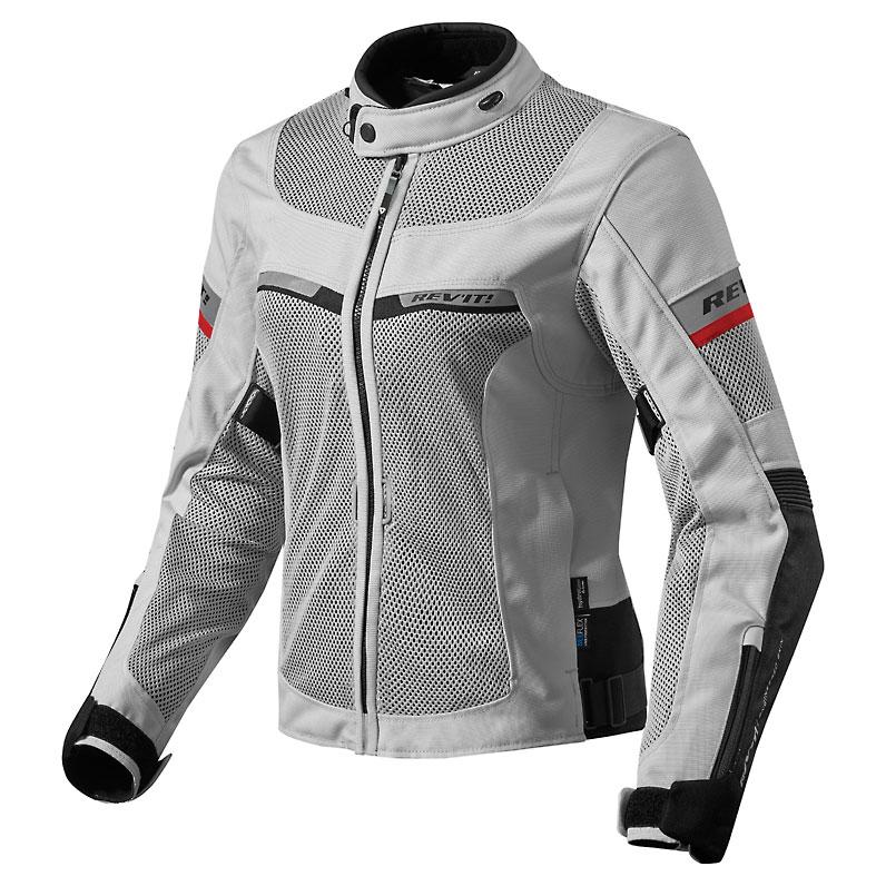 REV′IT! Women's Tornado 2 Silver/Black Jacket