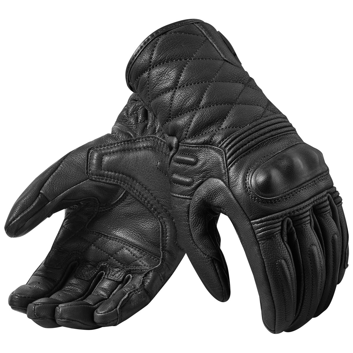REV′IT! Women's Monster 2 Black Leather Gloves