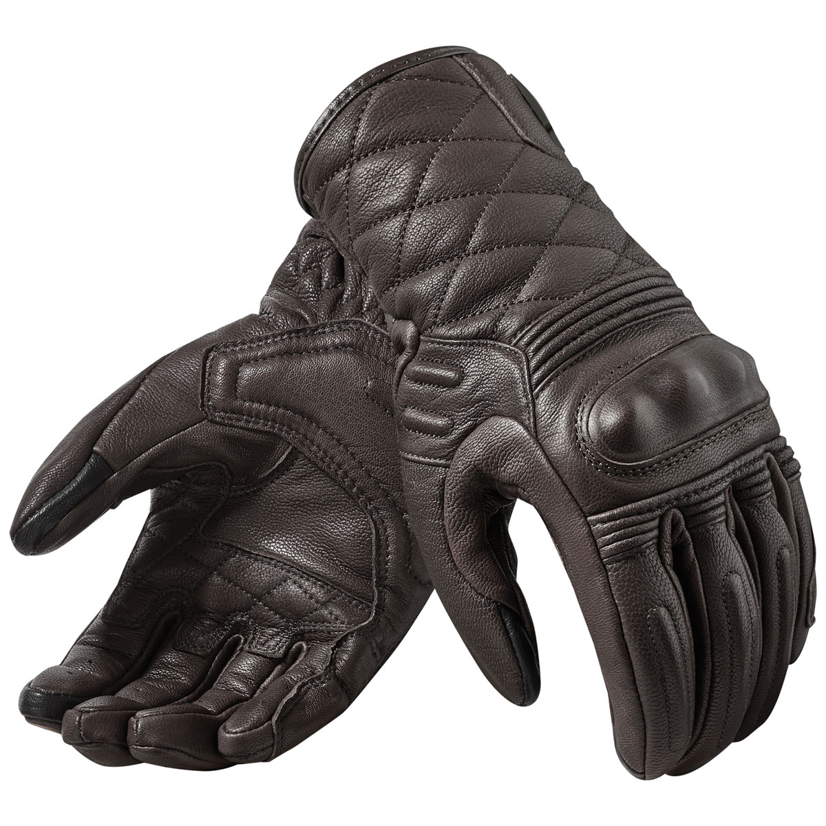 REV′IT! Women's Monster 2 Dark Brown Leather Gloves