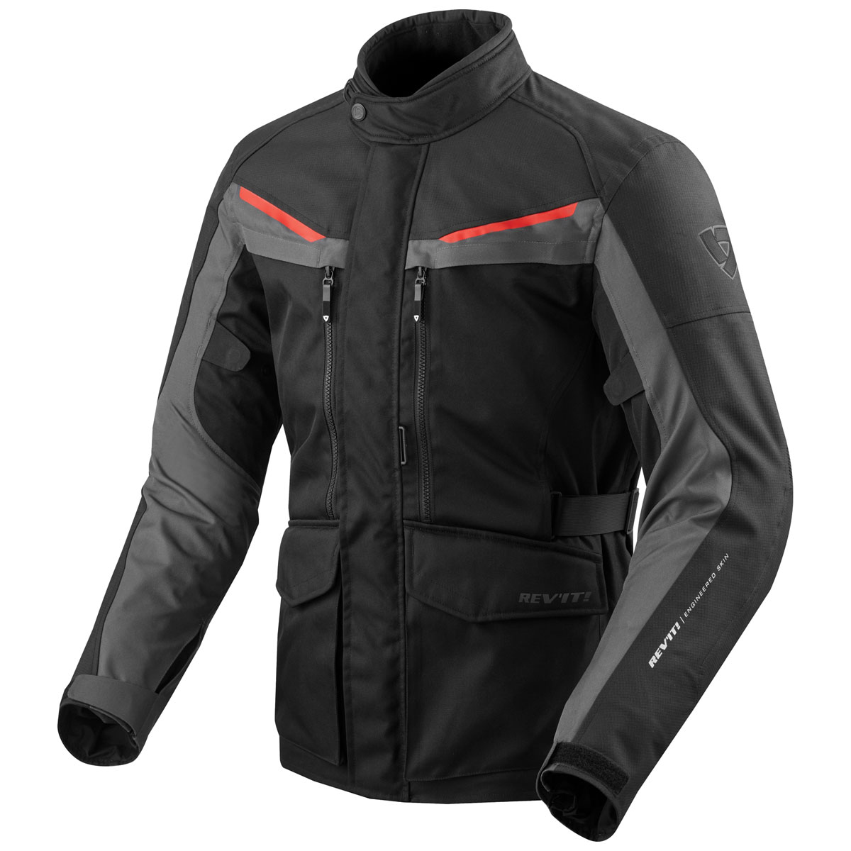 REV′IT! Men's Safari 3 Black/Anthracite Jacket