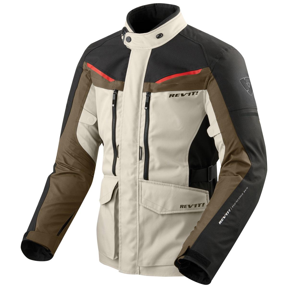 REV′IT! Men's Safari 3 Sand/Black Jacket