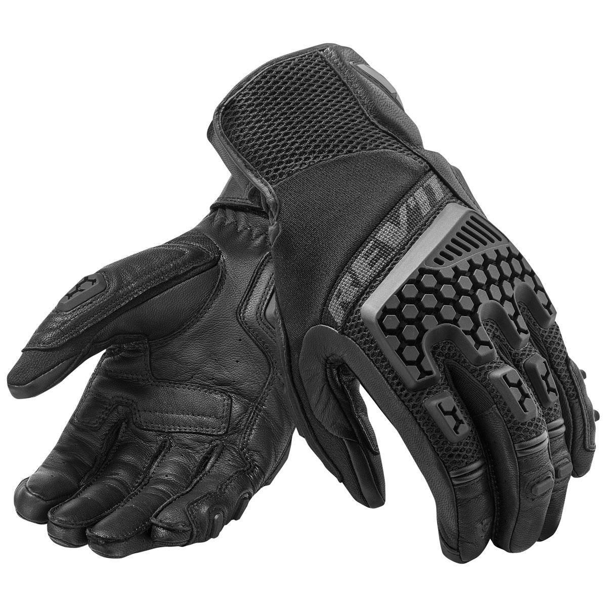 REV′IT! Men's Sand 3 Black Gloves