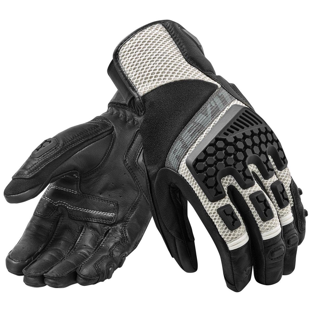 REV′IT! Men's Sand 3 Black/Silver Gloves