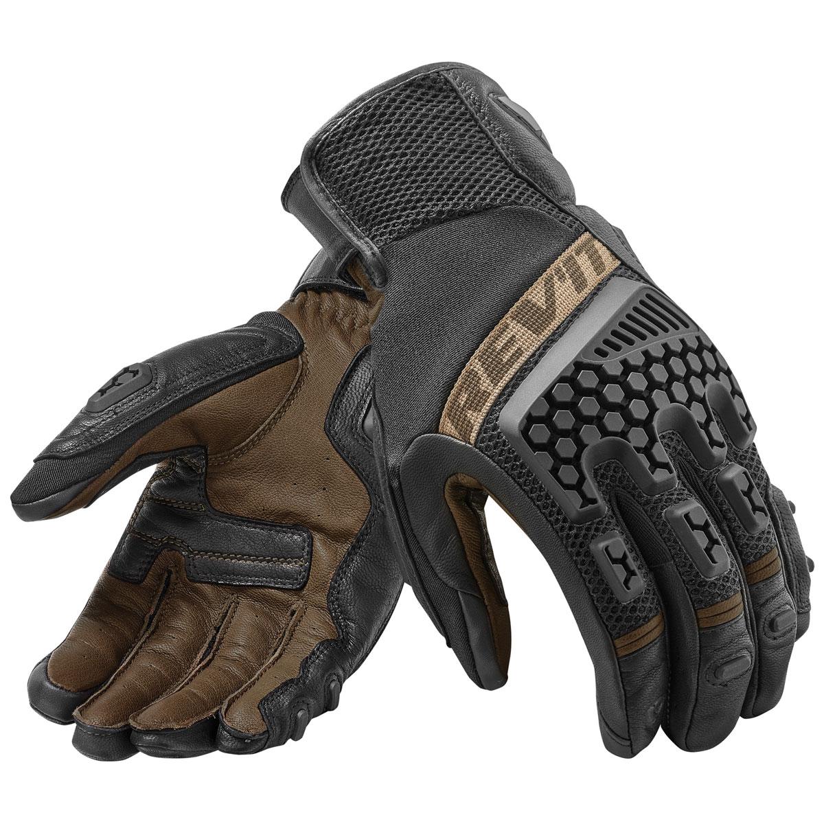 REV′IT! Men's Sand 3 Black/Sand Gloves