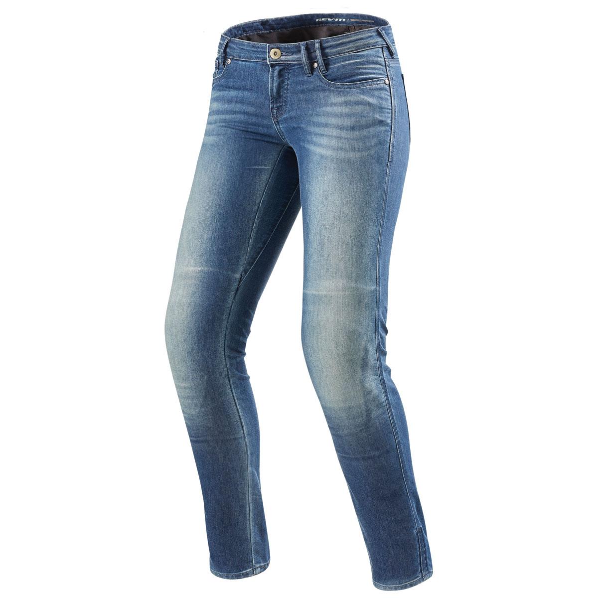 REV′IT! Women's Westwood Light Blue Jeans