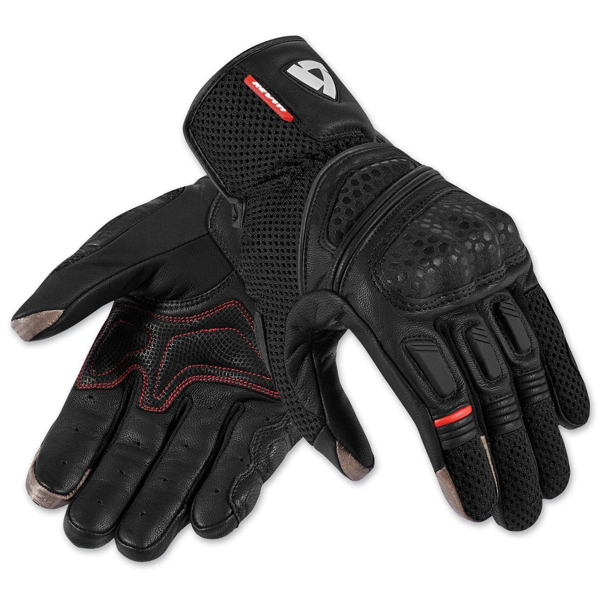 REV′IT! Men's Dirt 2 Black Gloves