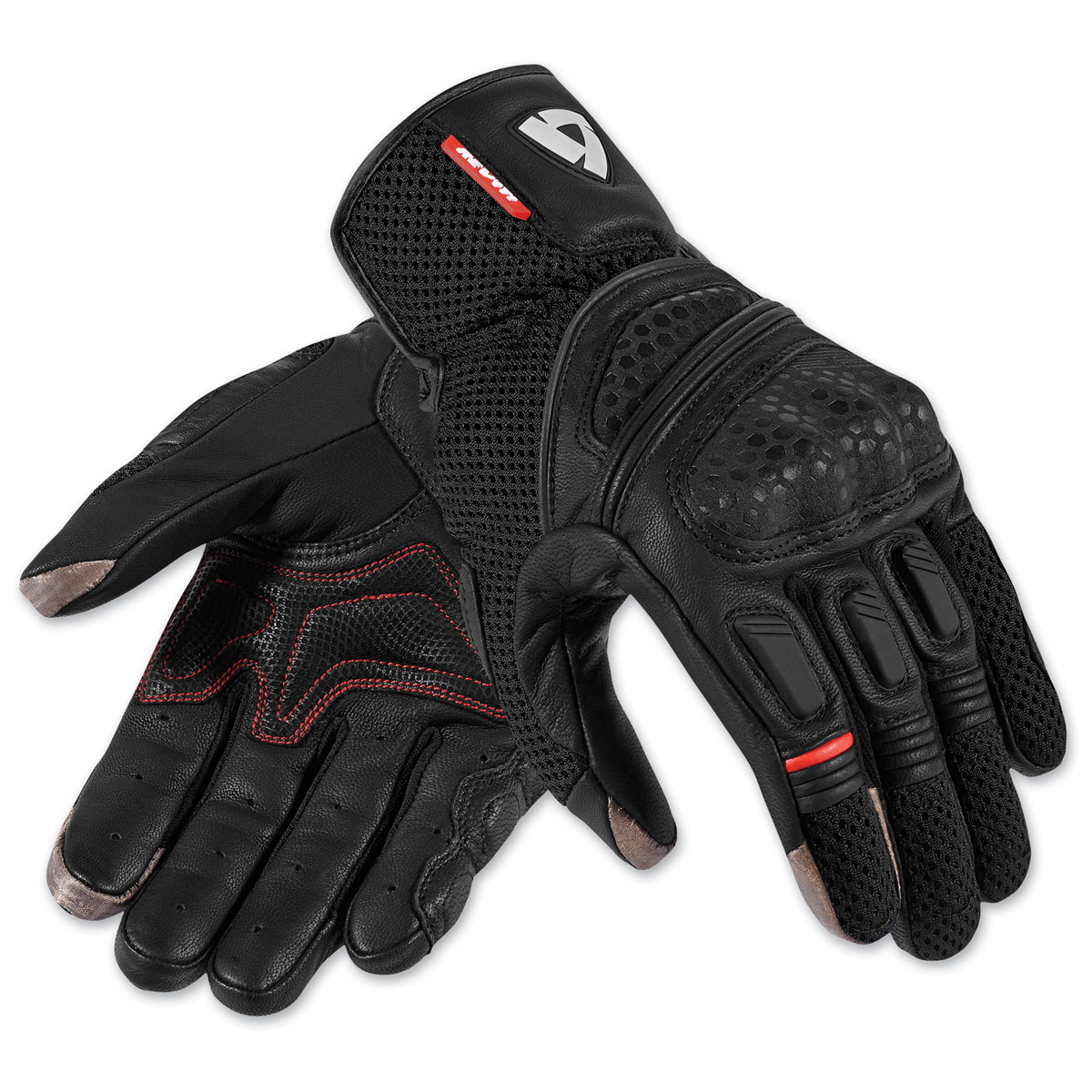 REV′IT! Men's Dirt 2 Black Gloves