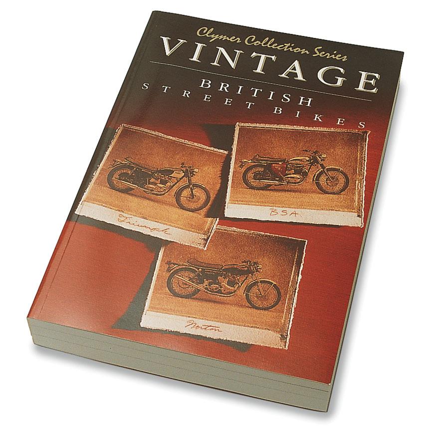 Clymer Vintage Motorcycle Repair Manual