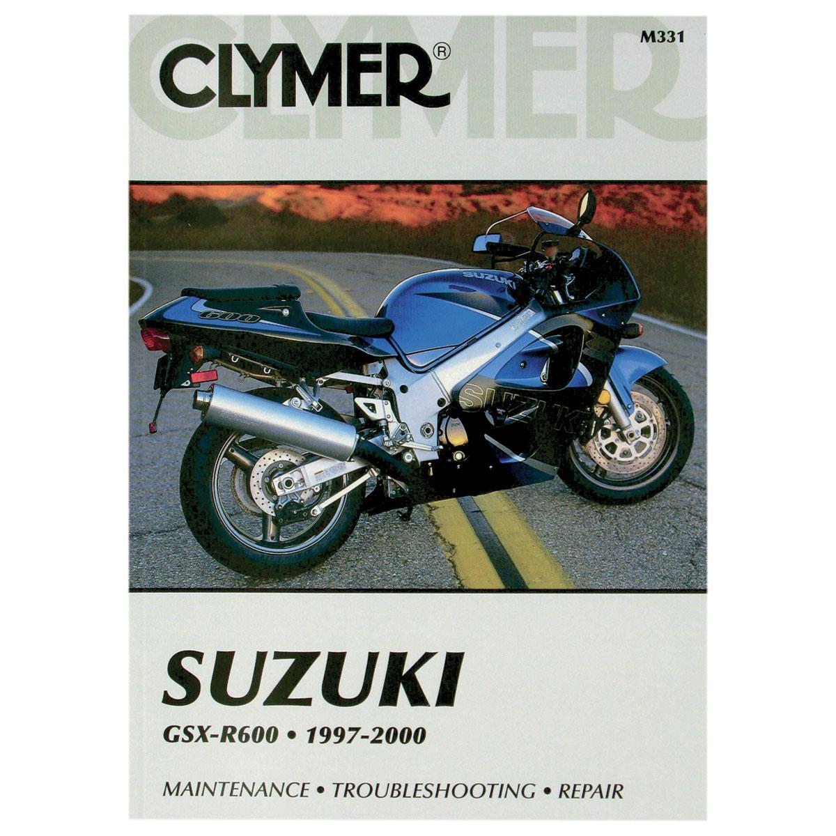 Clymer Suzuki Motorcycle Repair Manual