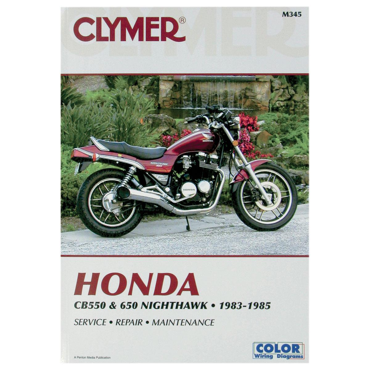 Wiring Schematic For A 1983 650 Nighthawk Diagram Libraries Clymer Honda Motorcycle Repair Manual 181 2303 Ju0026p Cyclesclymer