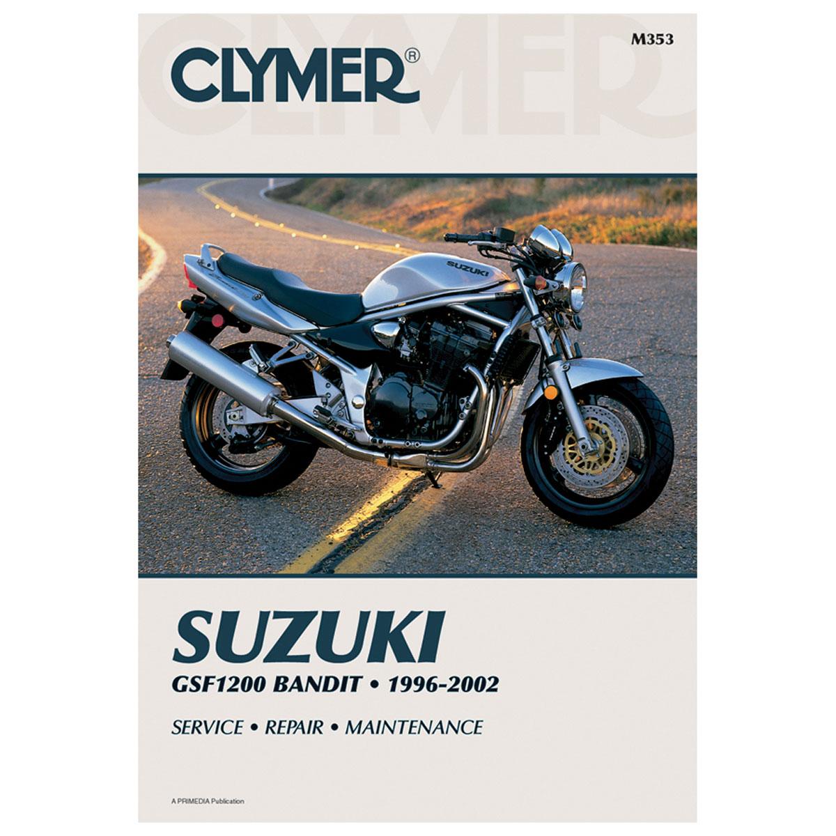 Clymer Suzuki Motorcycle Repair Manual - M353