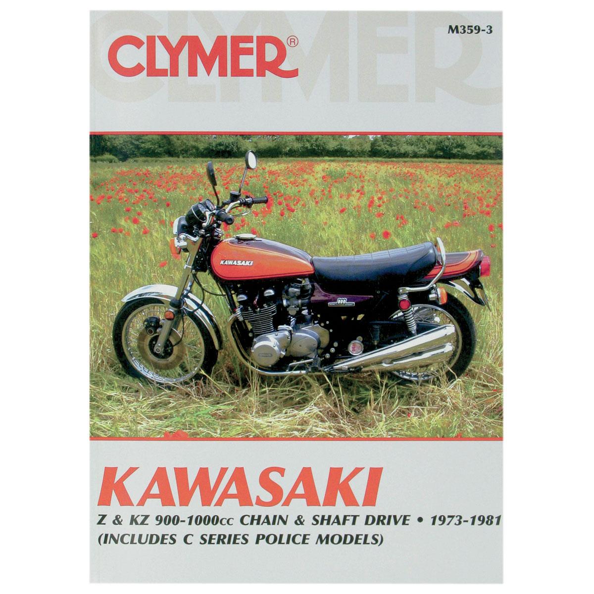 Clymer Kawasaki Motorcycle Repair Manual M359 3