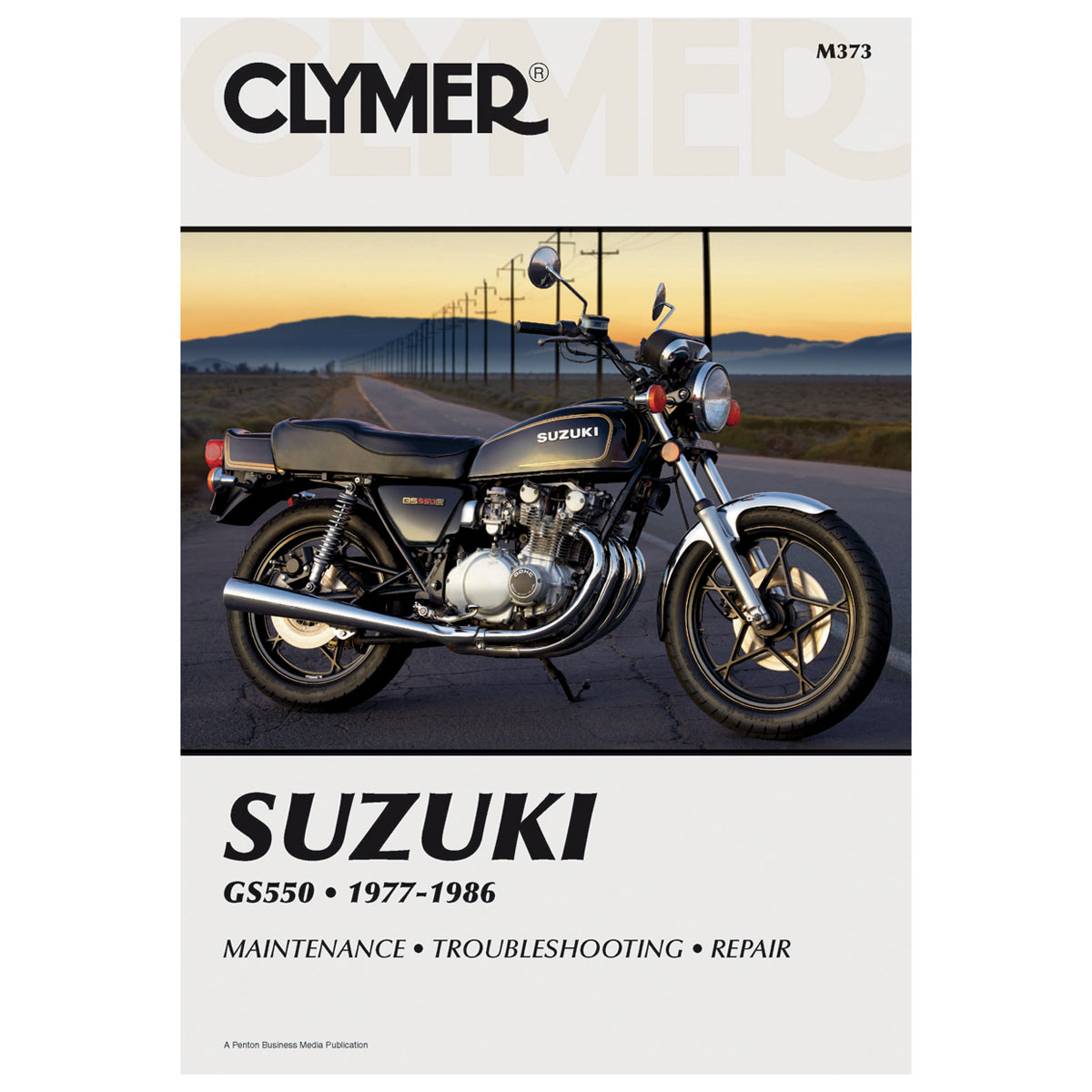 Clymer Suzuki Motorcycle Repair Manual - M373