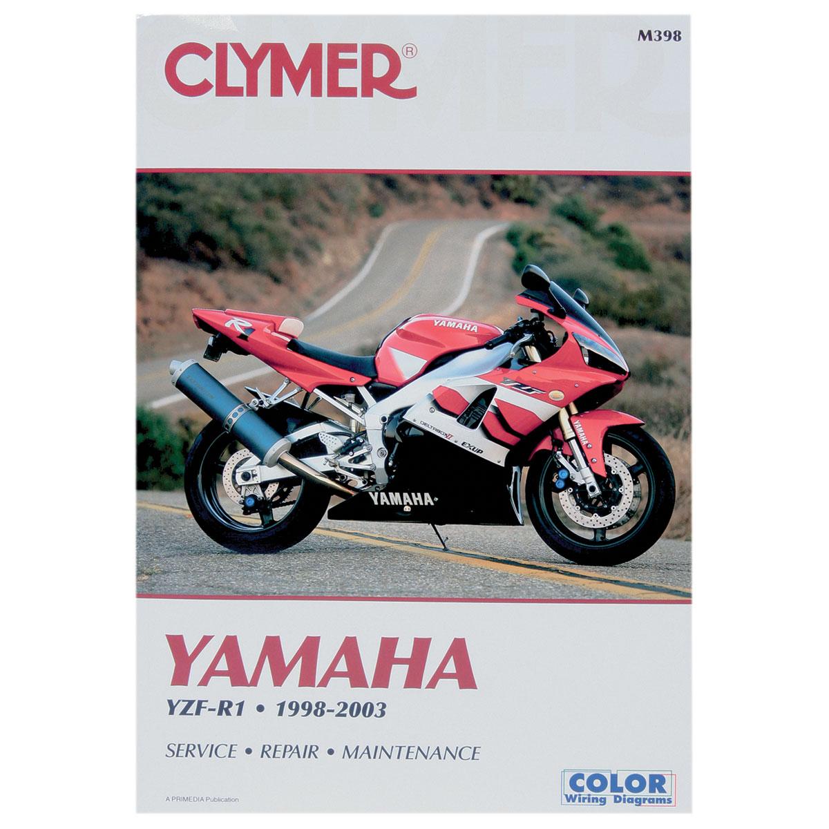 Clymer Yamaha Motorcycle Repair Manual