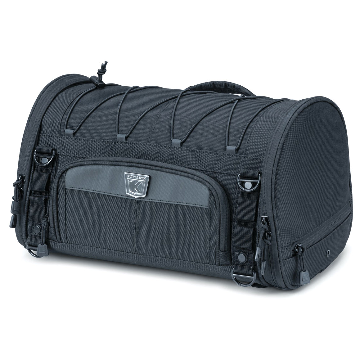 Kuryakyn Momentum Rambler Roll Bag Black