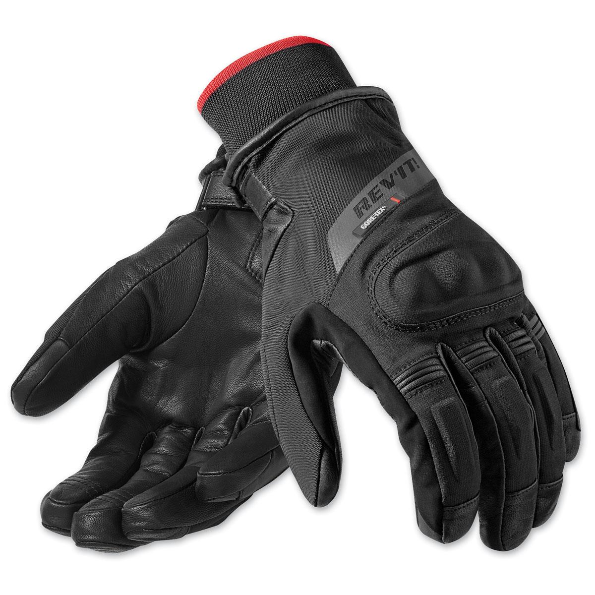 REV′IT! Men's Kryptonite GTX Black Gloves