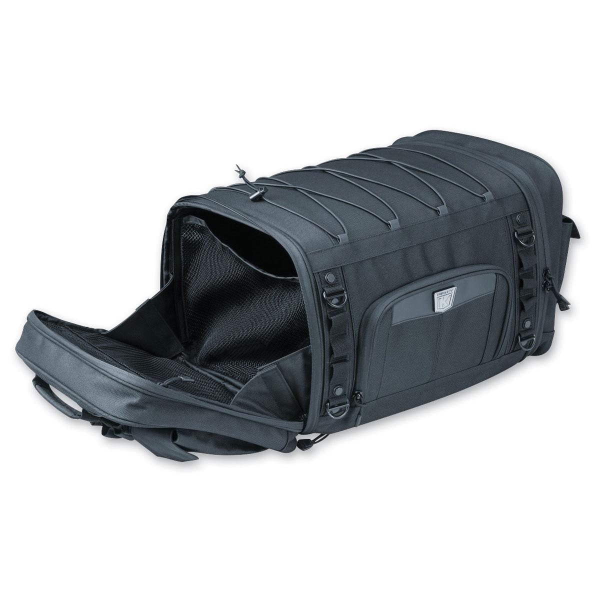 Kuryakyn Momentum Road Warrior Bag Luggage Black Harley Indian Honda BMW Suzuki