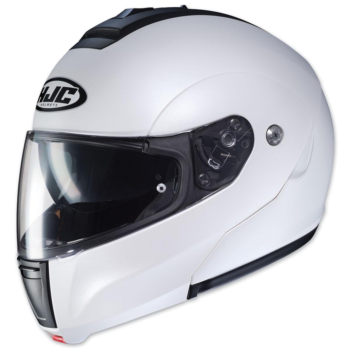 HJC CL-MAX 3 Semi Flat Pearl White Modular Helmet