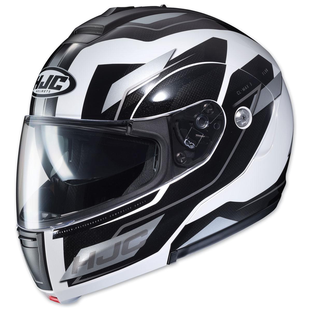 HJC CL-MAX 3 Flow Black/White Modular Helmet