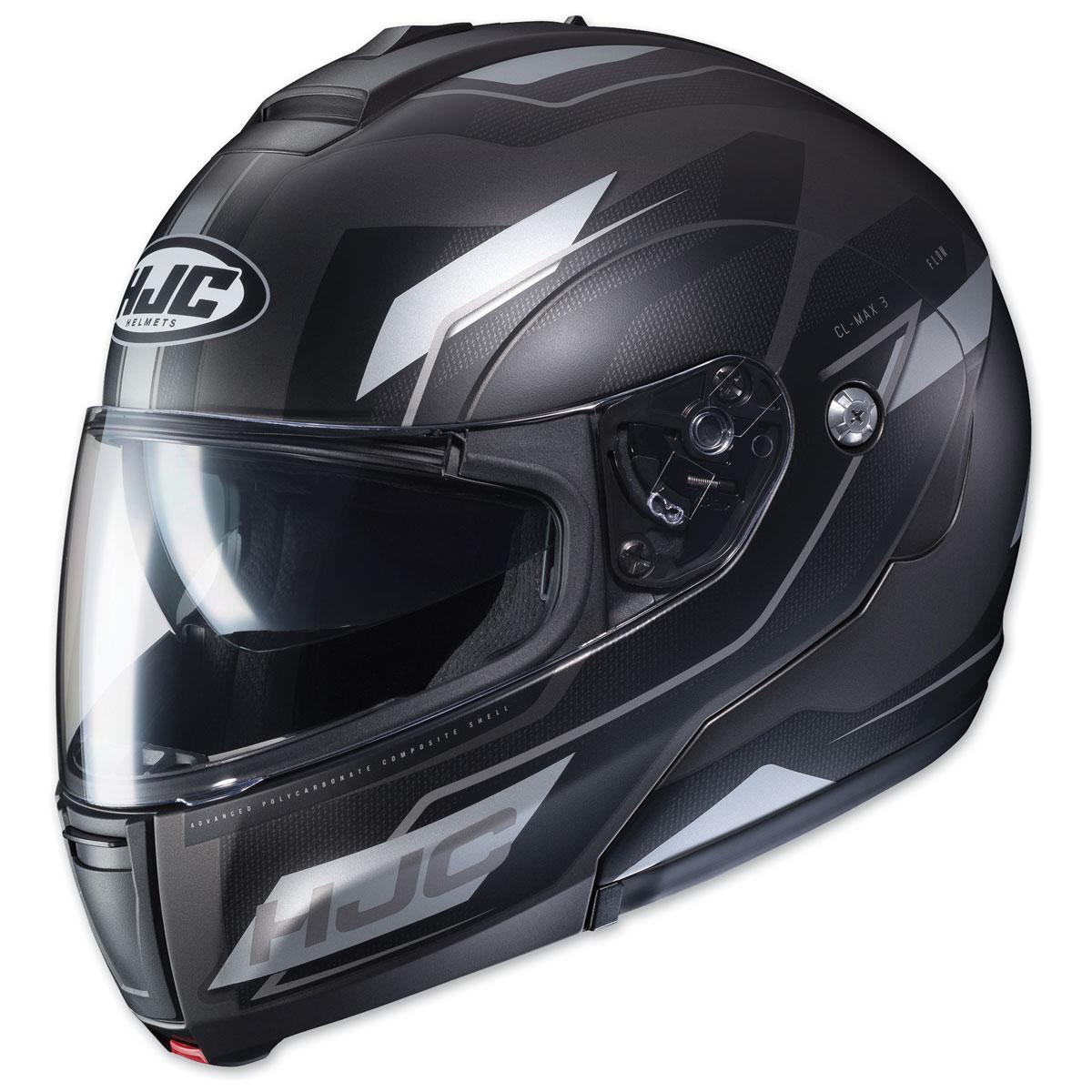 HJC CL-MAX 3 Flow Black/Gray Modular Helmet