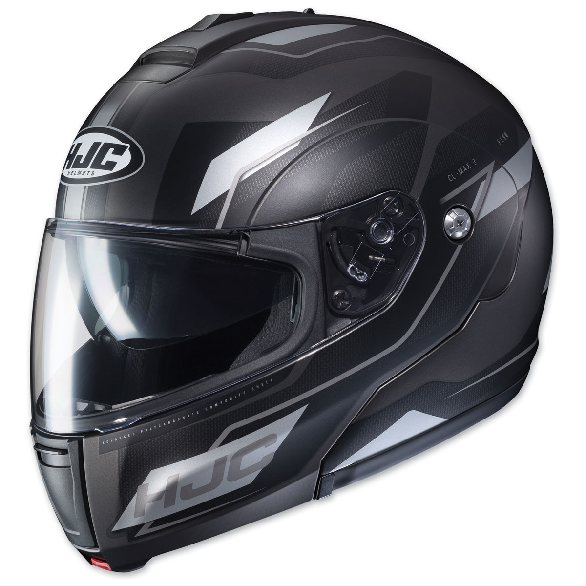 HJC CL-MAX 3 Flow Black/Gray Modular Helmet