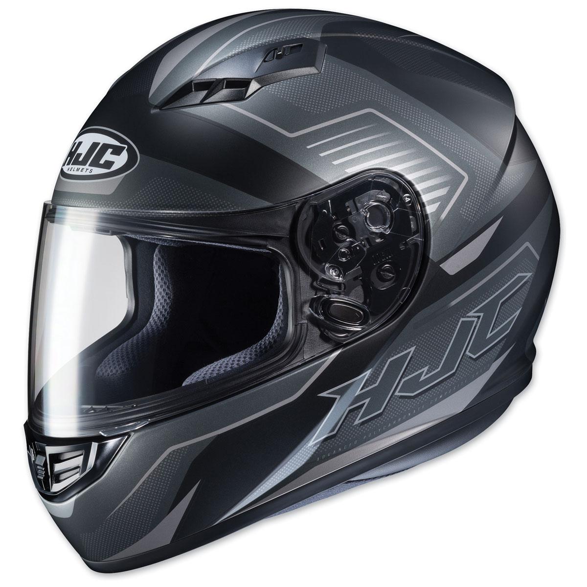 HJC CS-R3 Trion Semi Flat Black/Gray Full Face Helmet