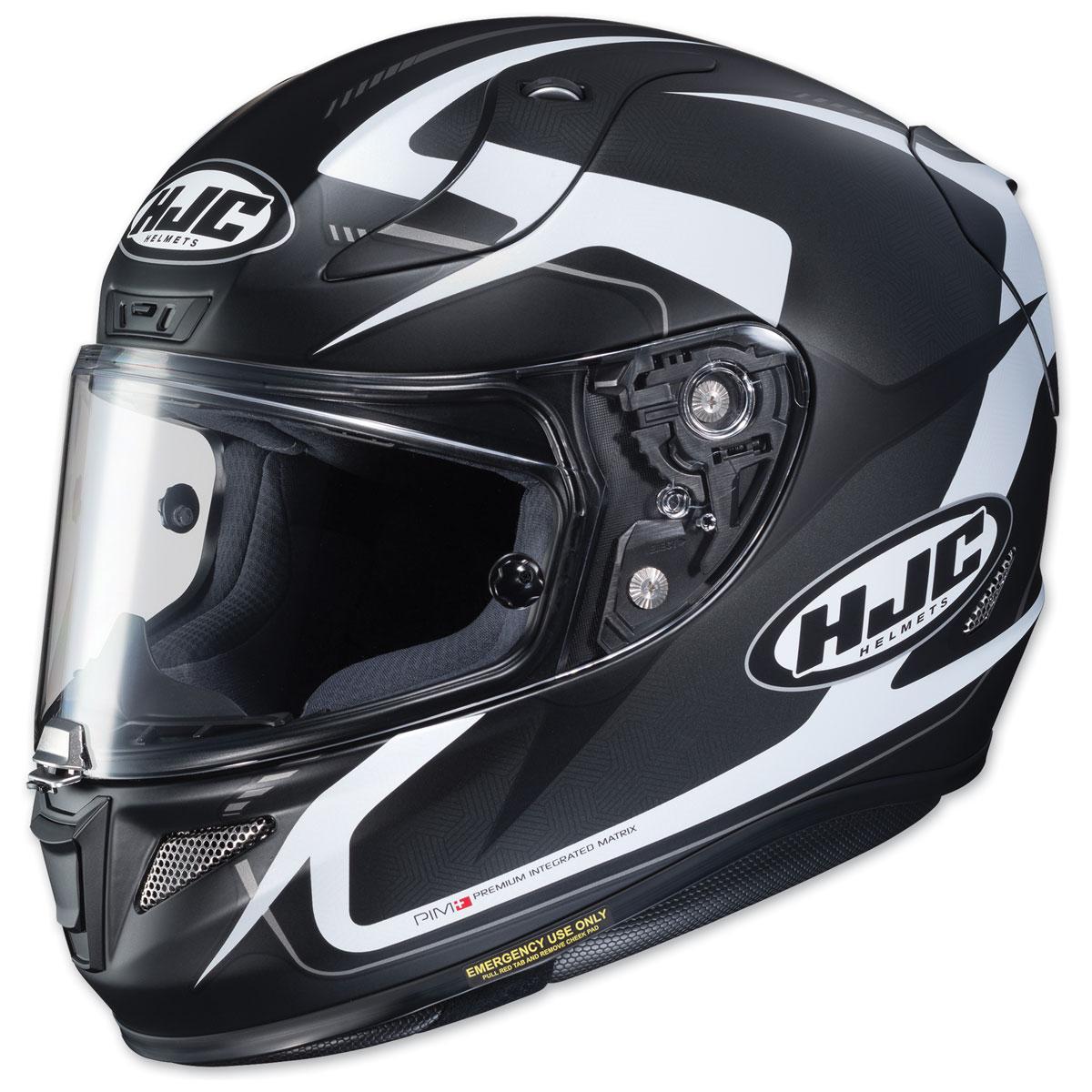 HJC RPHA 11 Pro Bludom Black/White Full Face Helmet