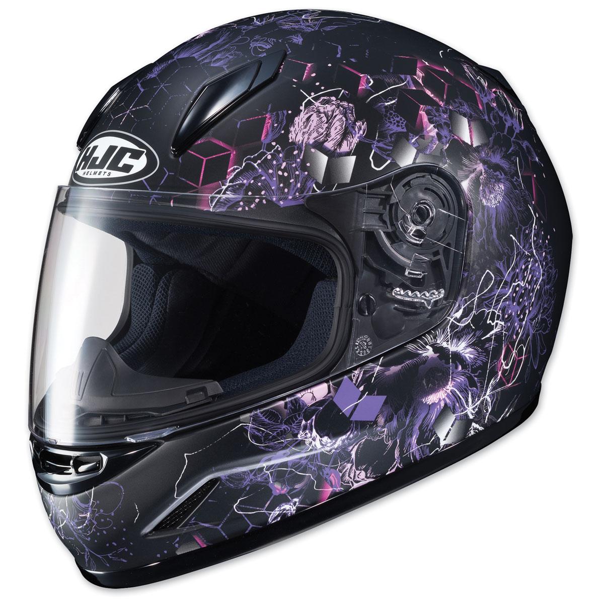 HJC CL-Y Youth Vela Black/Purple Full Face Helmet