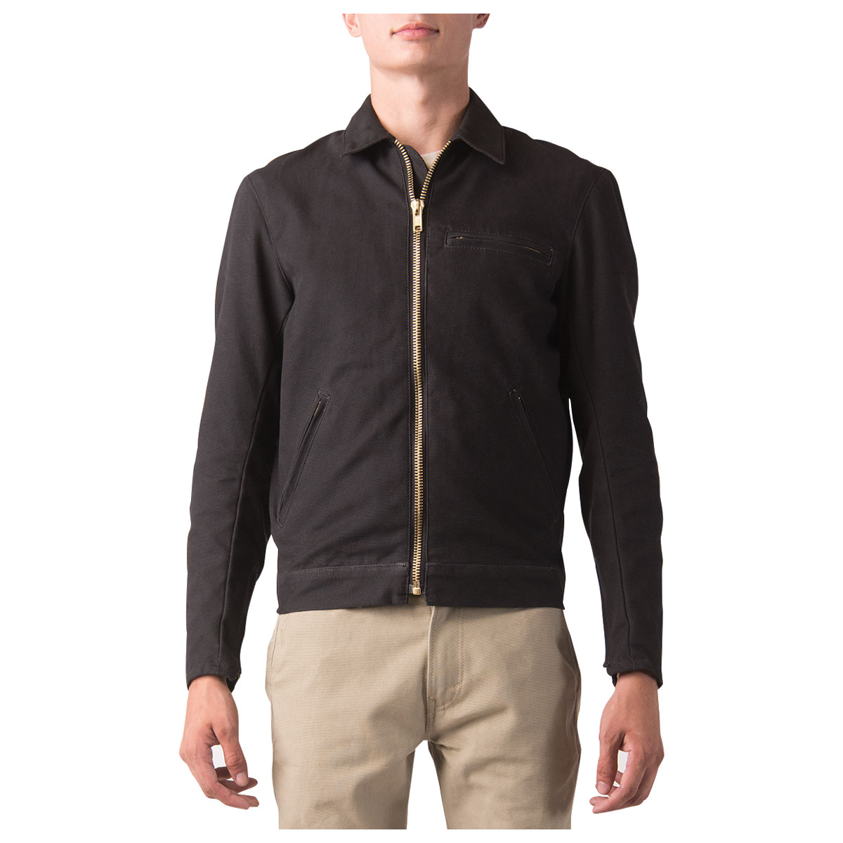 Dickies Moto Men's Ike Black Canvas Jacket
