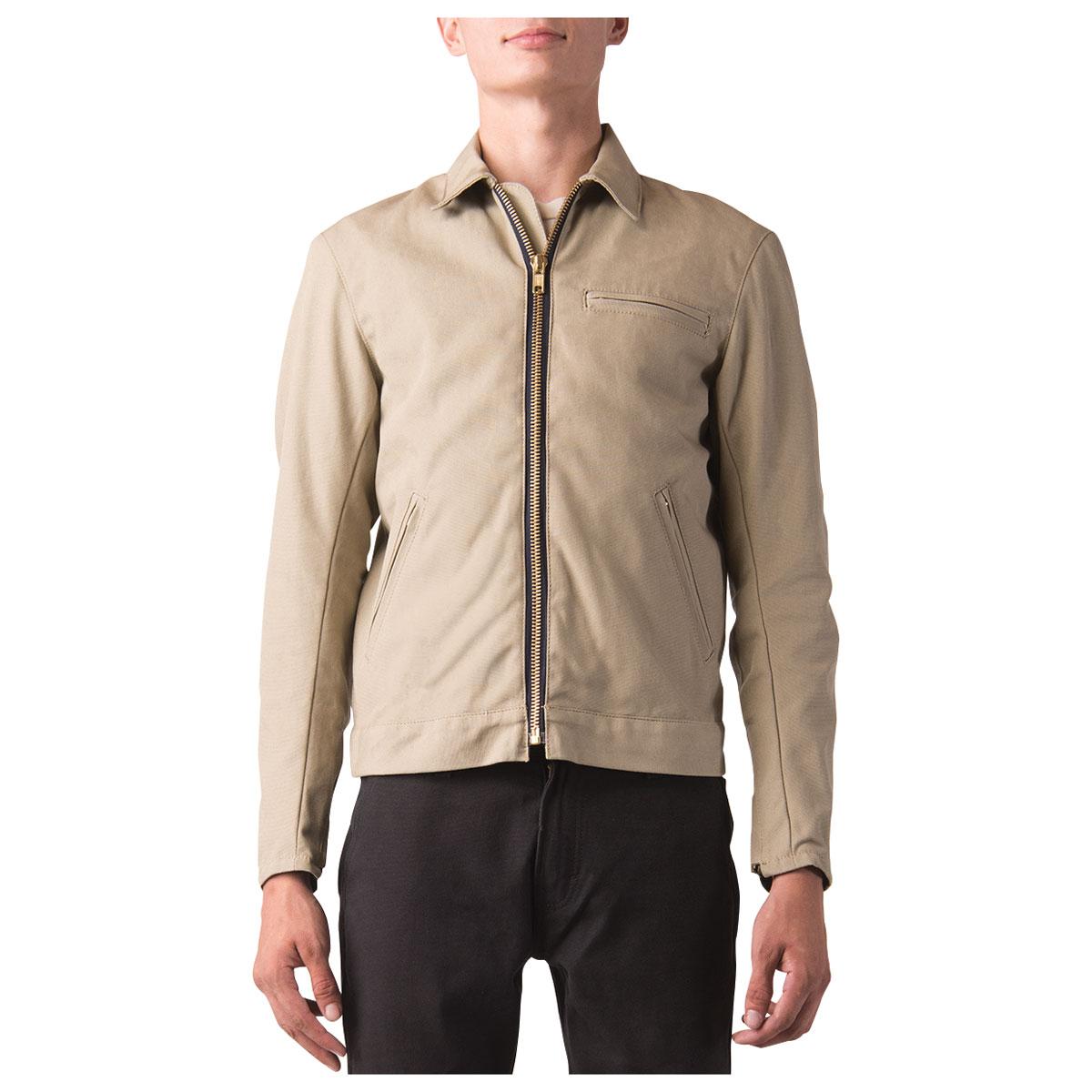 Dickies Moto Men's Ike Khaki Canvas Jacket