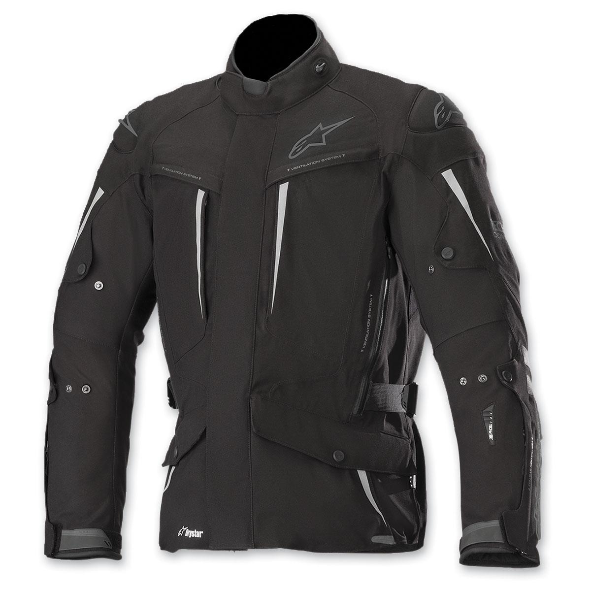 Alpinestars Men's Tech Air Street Compatible Yaguara Black/Anthracite Jacket