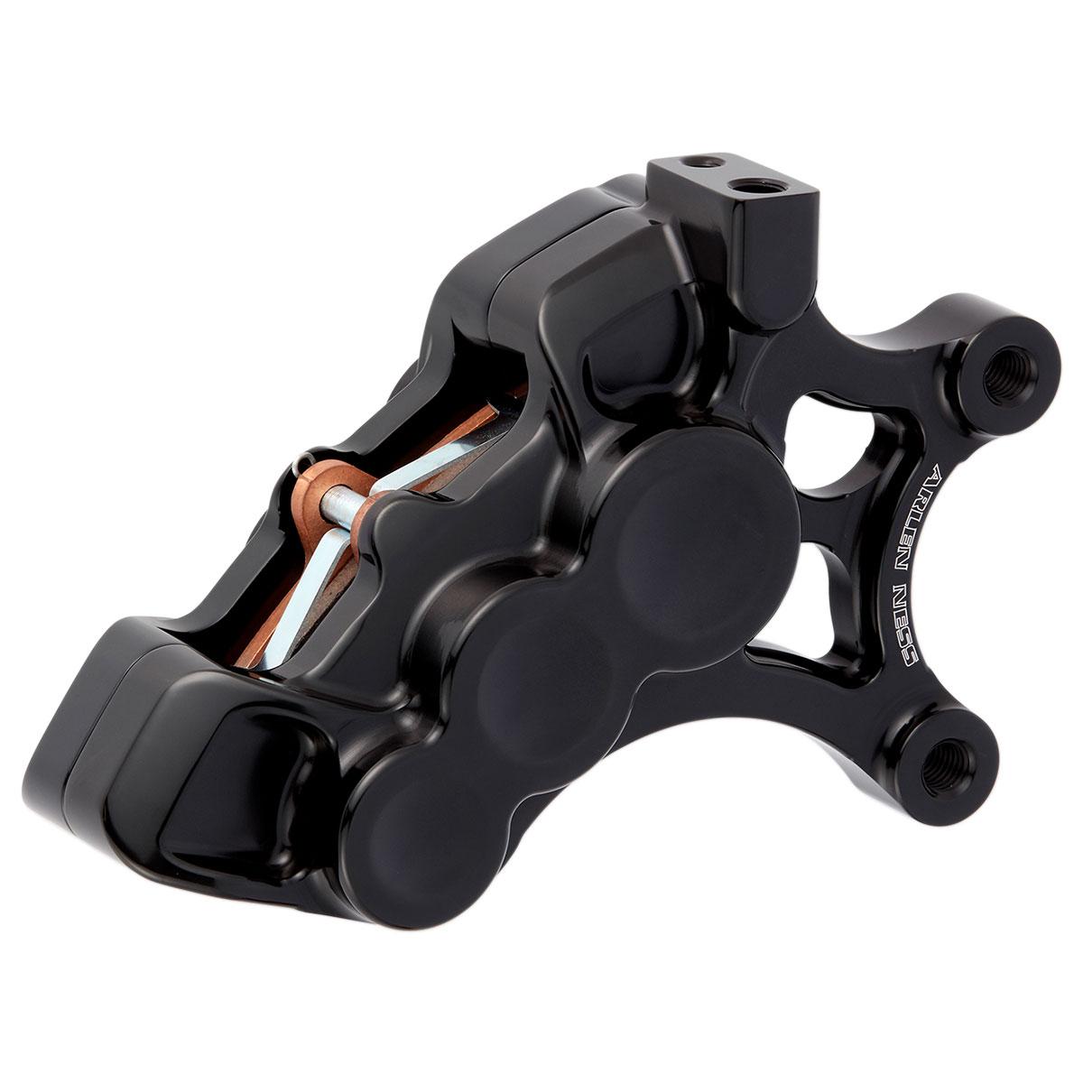 Arlen Ness Front Right 6 Piston Caliper  For 14
