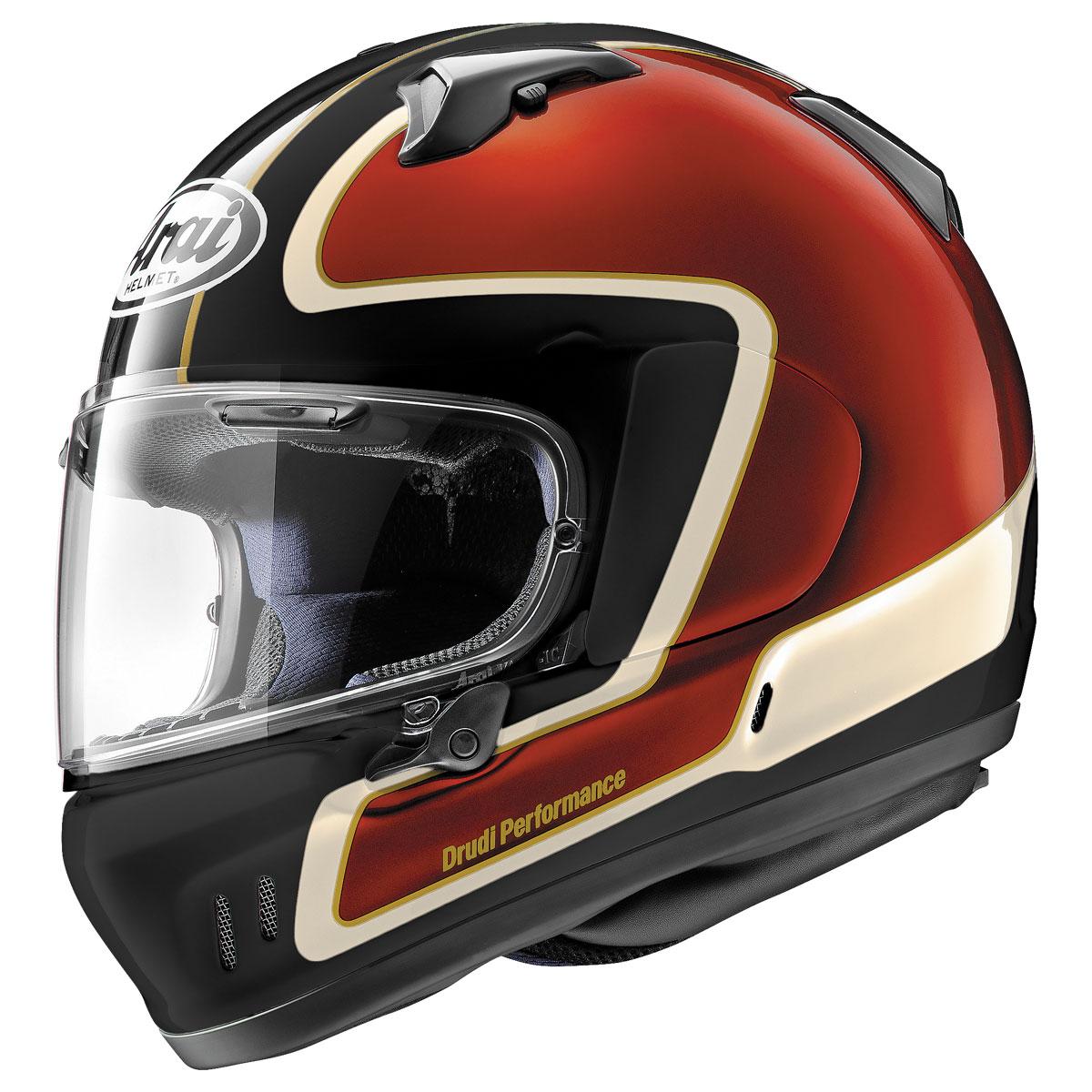 Arai Defiant-X Outline Red Full Face Helmet