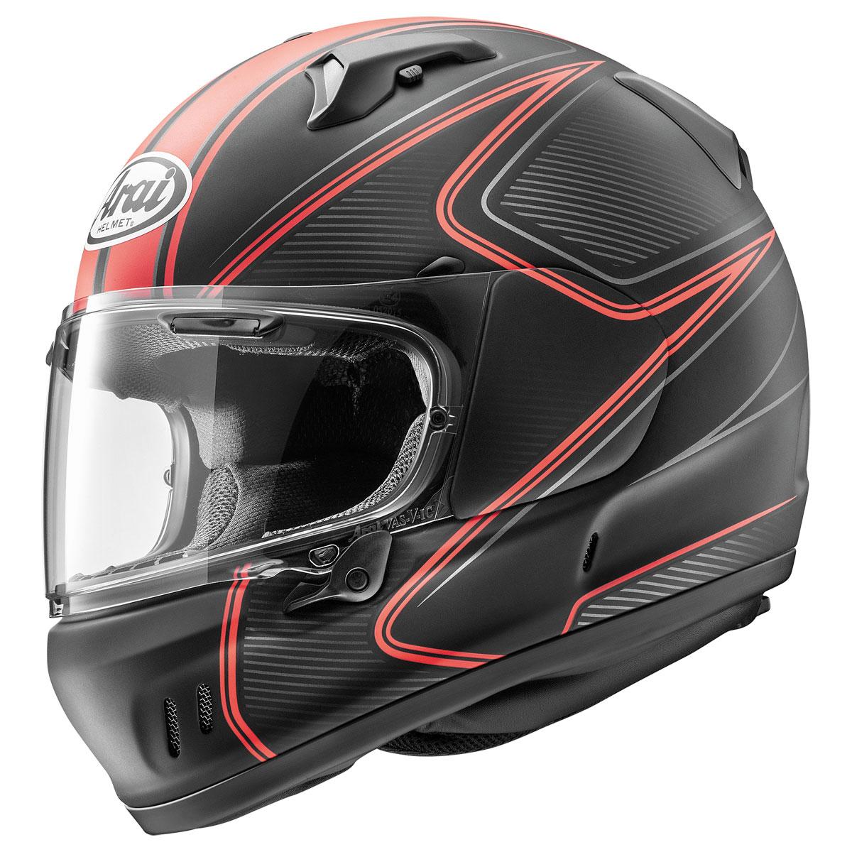 Arai Defiant-X Diablo Red Frost Full Face Helmet