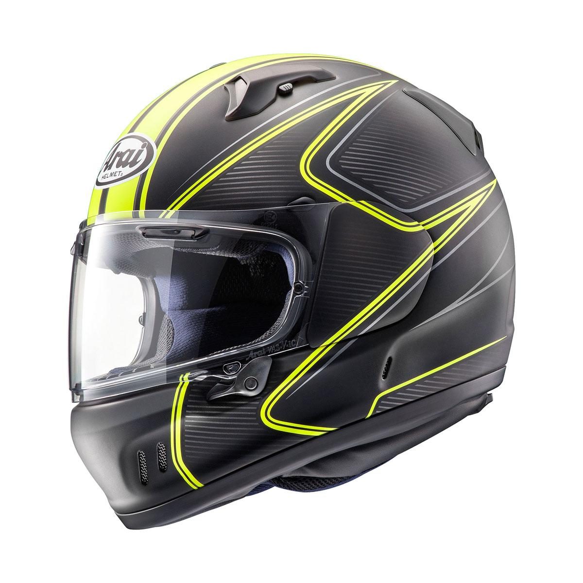 Arai Defiant-X Diablo Yellow Frost Full Face Helmet